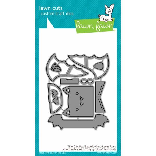 Lawn Fawn Die Set - Tiny Gift Box Bat Add-on
