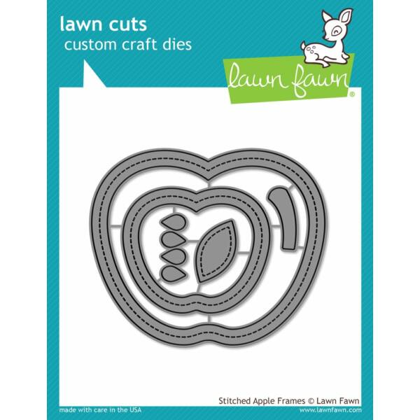 Lawn Fawn Die Set - Stitched Apple Frames
