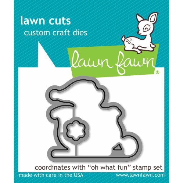 Lawn Fawn Die Set - Oh What Fun
