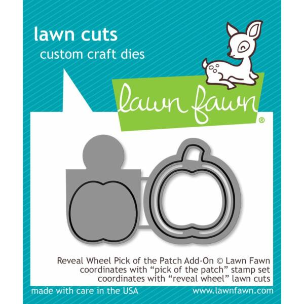 Lawn Fawn Die Set - Reveal Wheel Pick of the Patch Add-on