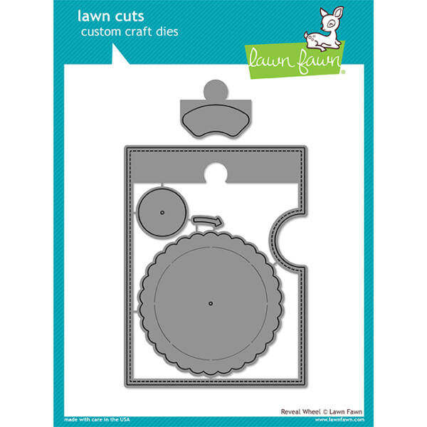 Lawn Fawn Die Set - Reveal Wheel