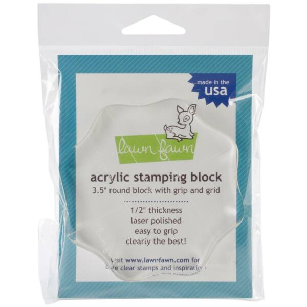 Lawn Fawn Acrylic Stamping Block 3.5