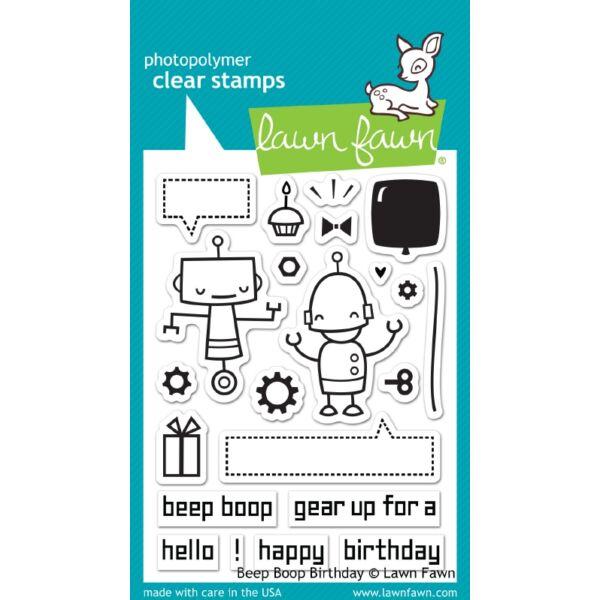 Lawn Fawn - Beep Boop Birthday