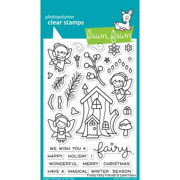 Lawn Fawn Clear Stamp - Frosty Fairy Friends