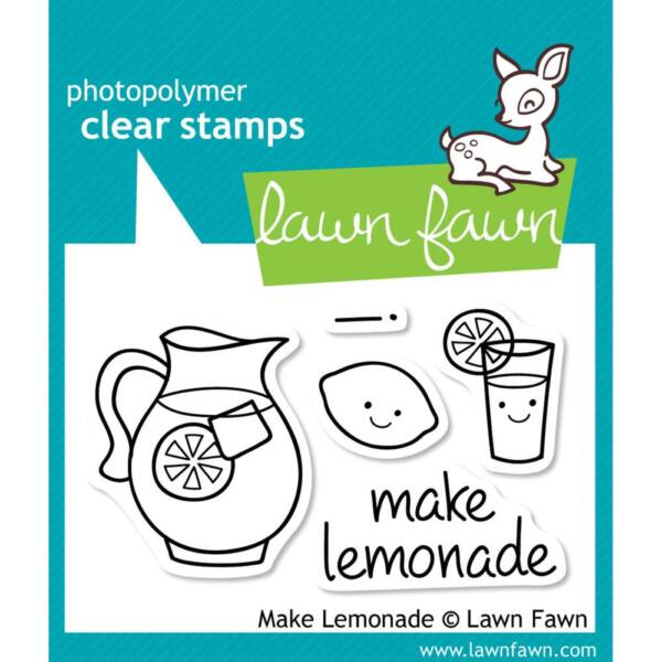 Lawn Fawn Clear Stamp - Make Lemonade
