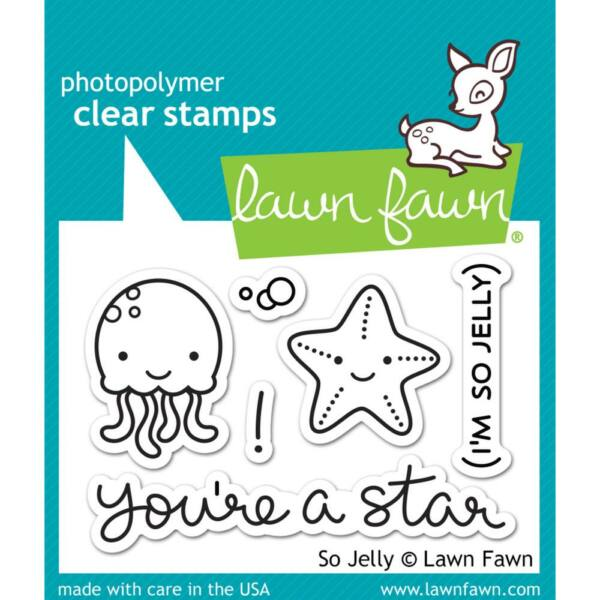 Lawn Fawn Clear Stamp - So Jelly