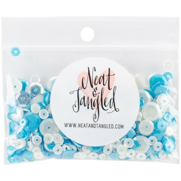 Neat & Tangled Sequin Mix - Ocean Waves