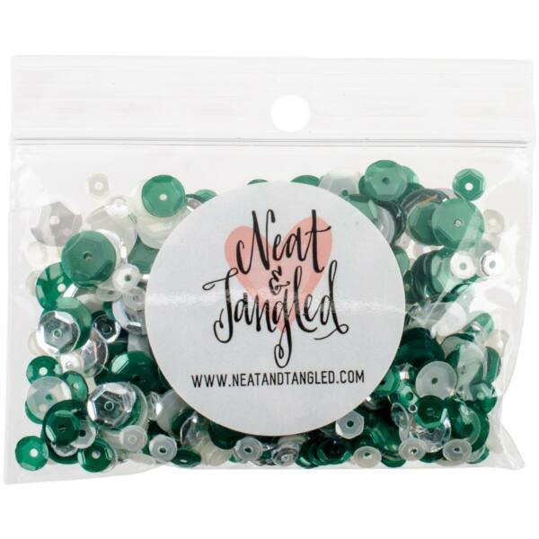 Neat & Tangled Sequin Mix - Frosted Pine
