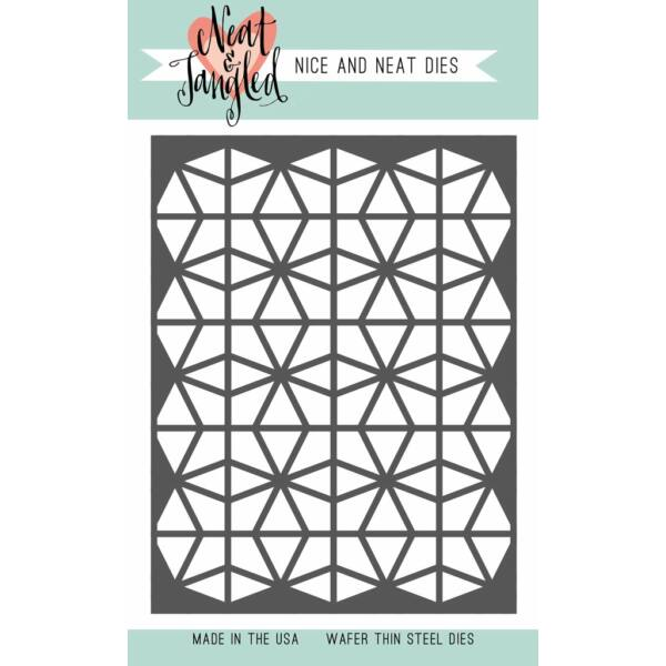 Neat & Tangled Die Cover Plate Die - Geometric Circles