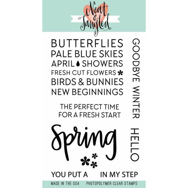 Neat and Tangled Stamp Set - Hello Spring
