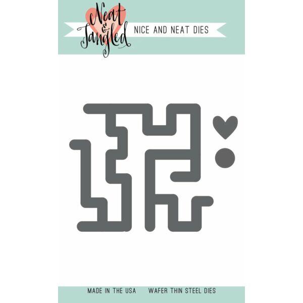 Neat & Tangled Die - Maze