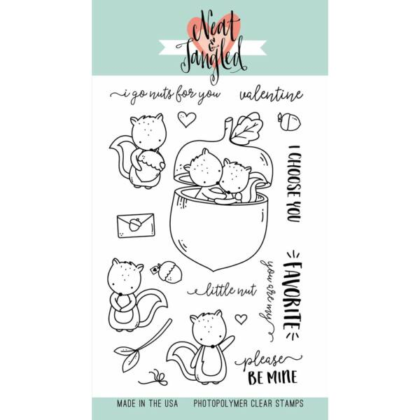 Neat & Tangled 4x6 Stamp Set - My Favorite Nut