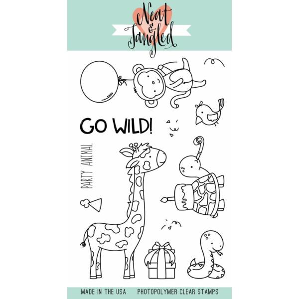 Neat & Tangled 4x6 Stamp Set - Wild Ones