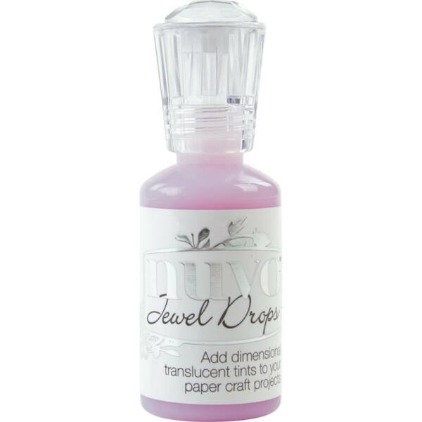 Nuvo Jewel Drops - Pale Periwinkle