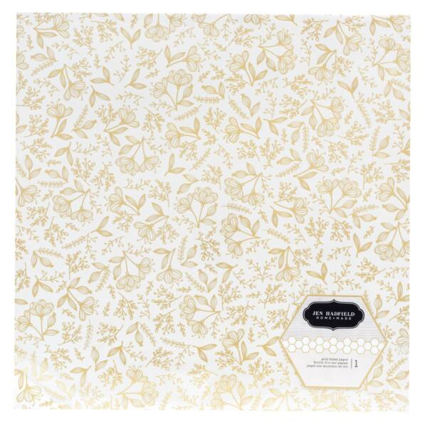 Pebbles - Jen Hadfield - Along The Way 12x12 Specialty Paper