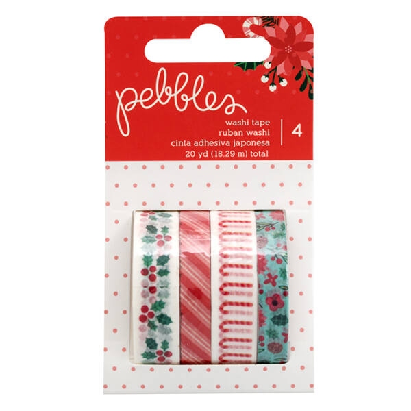 Pebbles - Cozy & Bright Washi Tape Set