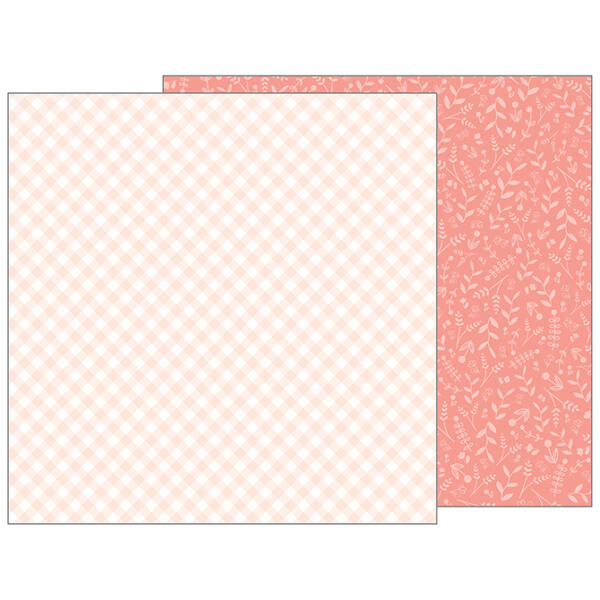 Pebbles - Nigh Night 12x12 Patterned Paper - Snuggle Time