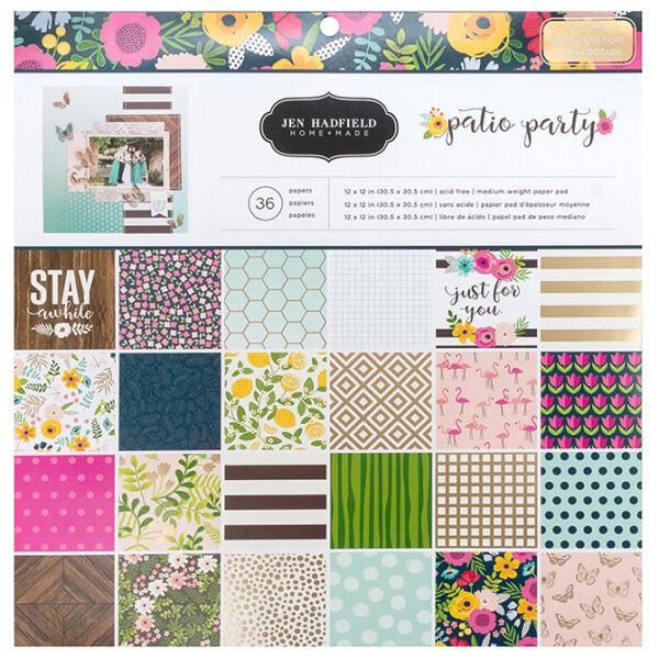 Pebbles - Patio Party 12x12 Paper Pad