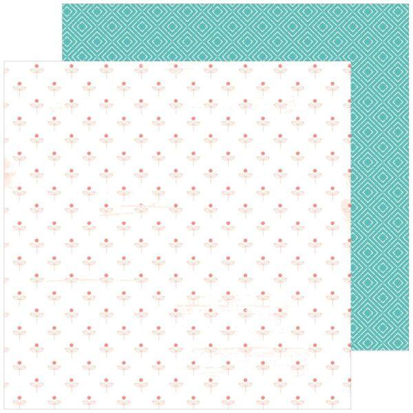 Pinkfresh Studio - Be You 12x12 Paper  - Happy