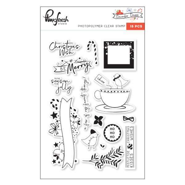 Pinkfresh Studio - December Days Stamp Set