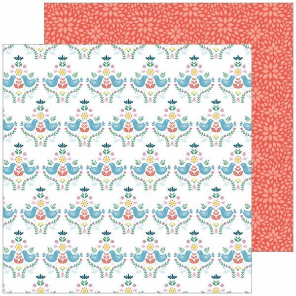 Pinkfresh Studio - Everyday Musings 12x12 Paper - Time for Fun