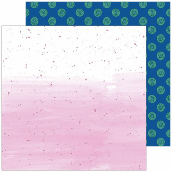 Pinkfresh Studio - Everyday Musings 12x12 Paper - Small Escape