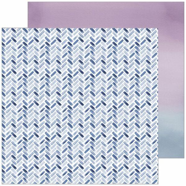 Pinkfresh Studio - Indigo Hills 2 12x12 Paper - Eminence