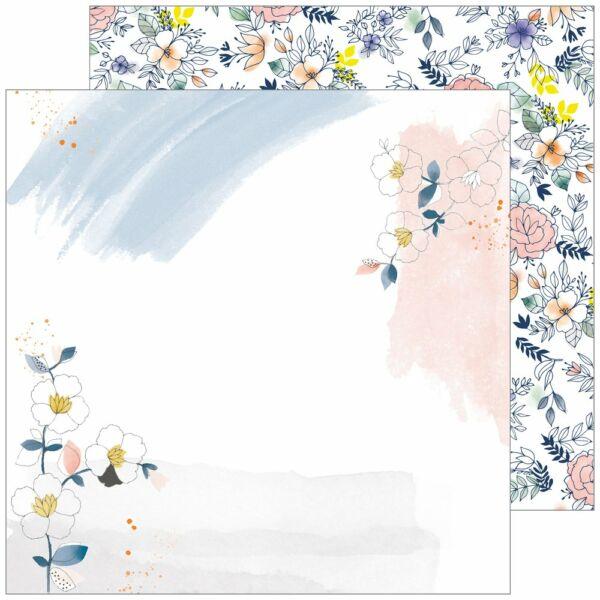 Pinkfresh Studio - Indigo Hills 2 12x12 Paper - Glen