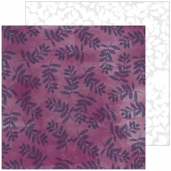 Pinkfresh Studio - Indigo Hills 2 12x12 Paper - Gorge