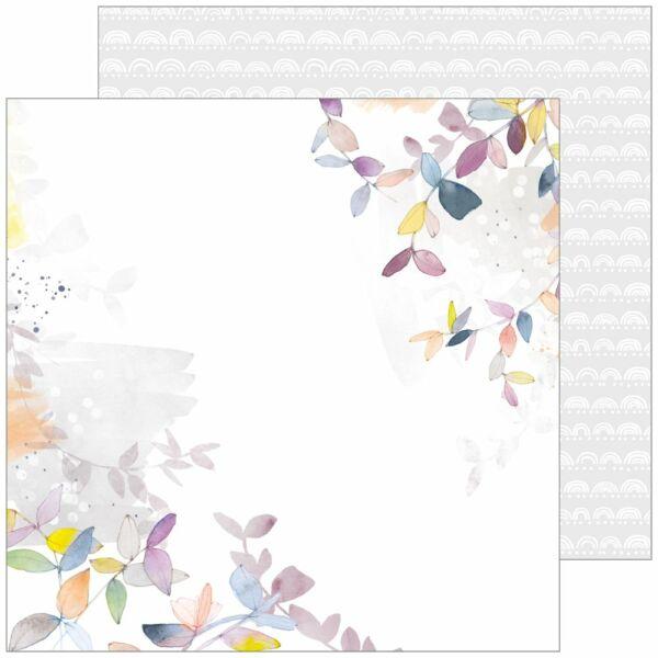 Pinkfresh Studio - Indigo Hills 2 12x12 Paper - Mesa
