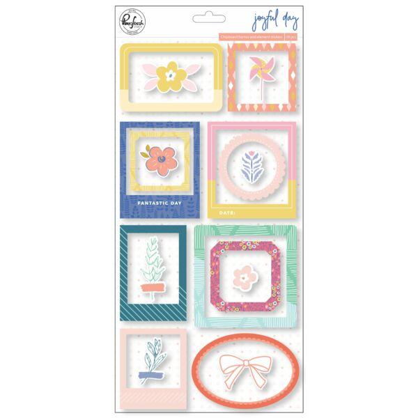 Pinkfresh Studio - Joyful Day Chipboard Frames