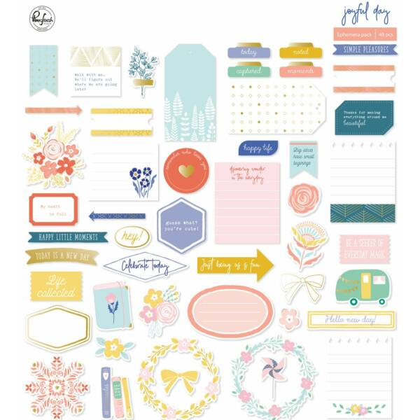 Pinkfresh Studio - Joyful Day Ephemera