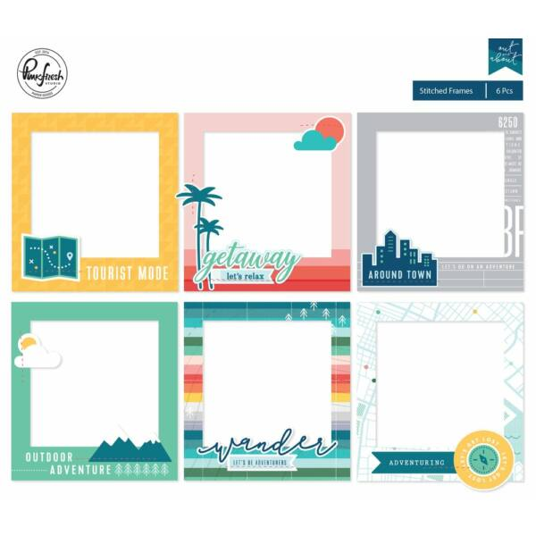 Pinkfresh Studio - Out and About Stitched Frames