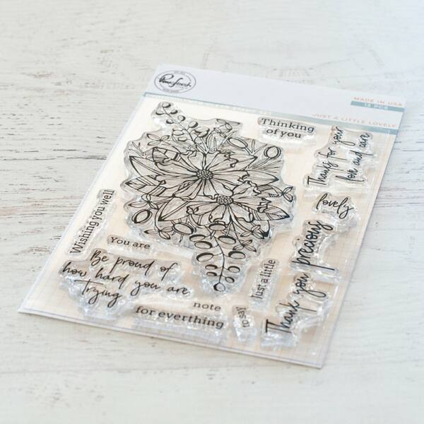 Pinkfresh Studio Stamp Set - Just a Little Lovely