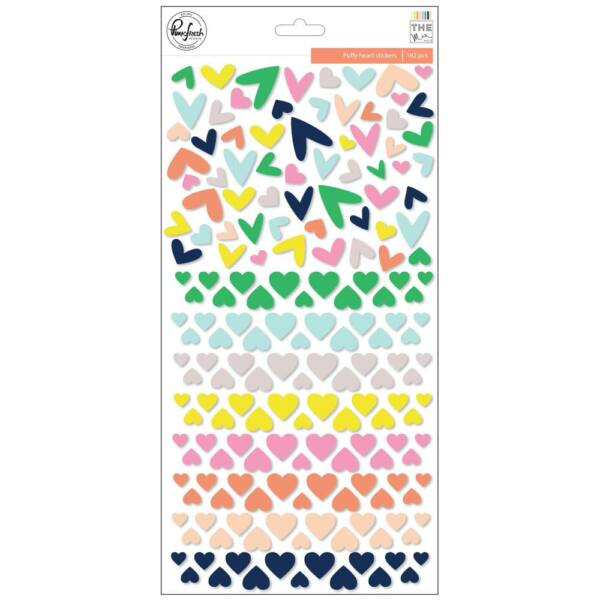 Pinkfresh Studio - The Mix No. 2 Puffy Heart Stickers