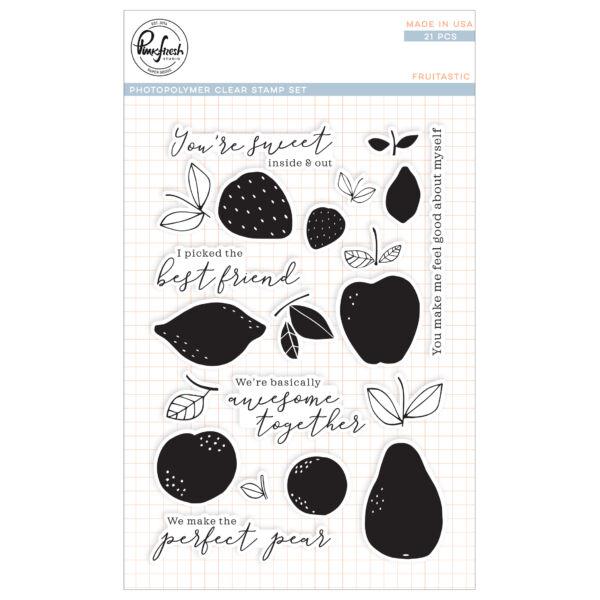 Pinkfresh Studio Stamp Set - Fruitastic