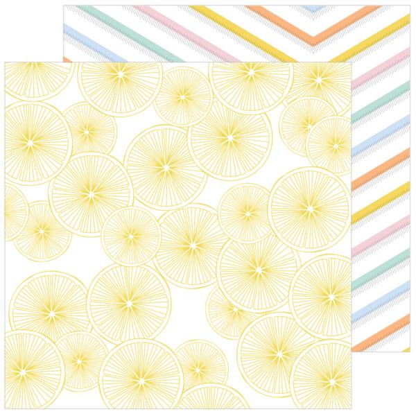 Pinkfresh Studio - Simple & Sweet 12x12 Paper - Good Things