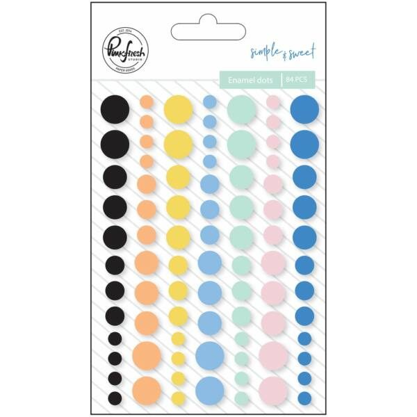 Pinkfresh Studio - Simple & Sweet Enamel Dots