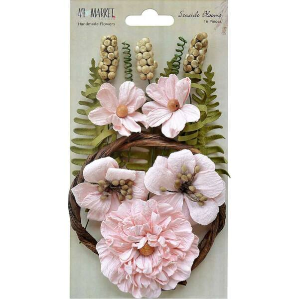 49 And Market Seaside Blooms - Natural Blush