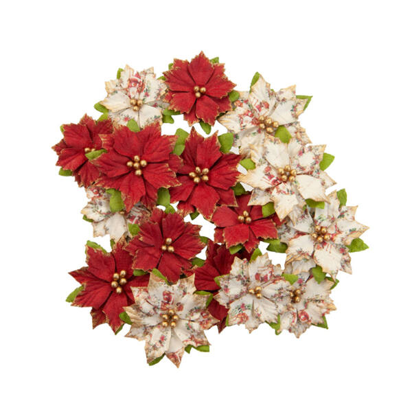 Prima Marketing - Christmas in the Country Flower - Kris Kringle