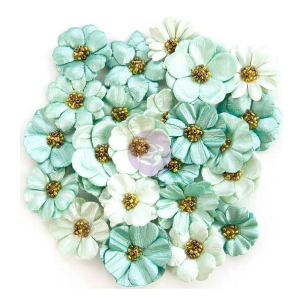 Prima Marketing - Zella Teal Flower - Zella Dreams