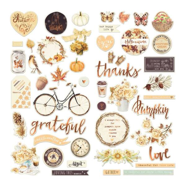 Prima Marketing - Amber Moon Chipboard