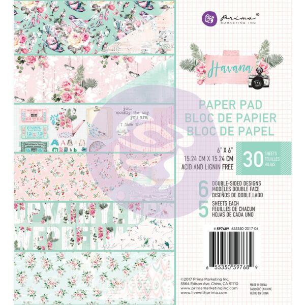 Prima Marketing - Havana 6x6 Paper Pad