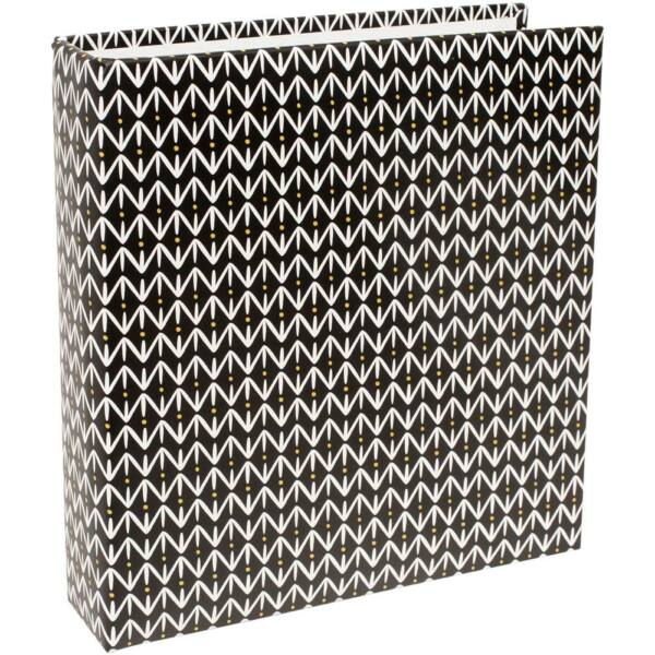 Becky Higgins - Project Life - 6 x 8 Album Black Pattern