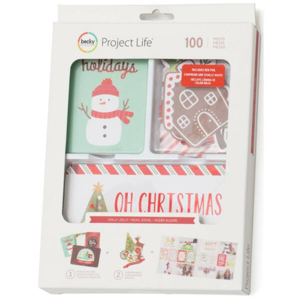 Becky Higgins - Project Life - Holly Jolly Value Kit