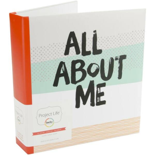 Becky Higgins - Project Life - 6 x 8 Album All About Me