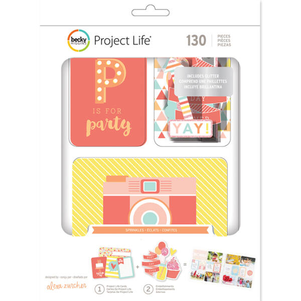Becky Higgins - Project Life Sprinkles Value Kit