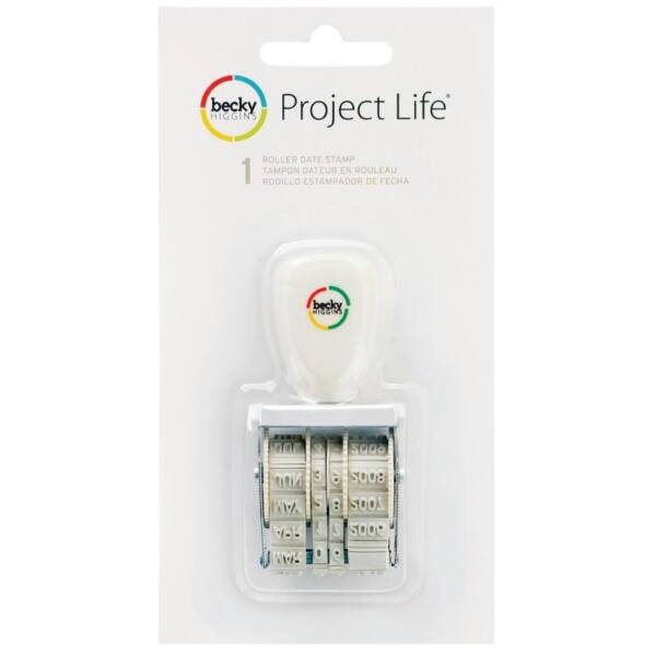 Becky Higgins - Project Life Roller Date Stamp