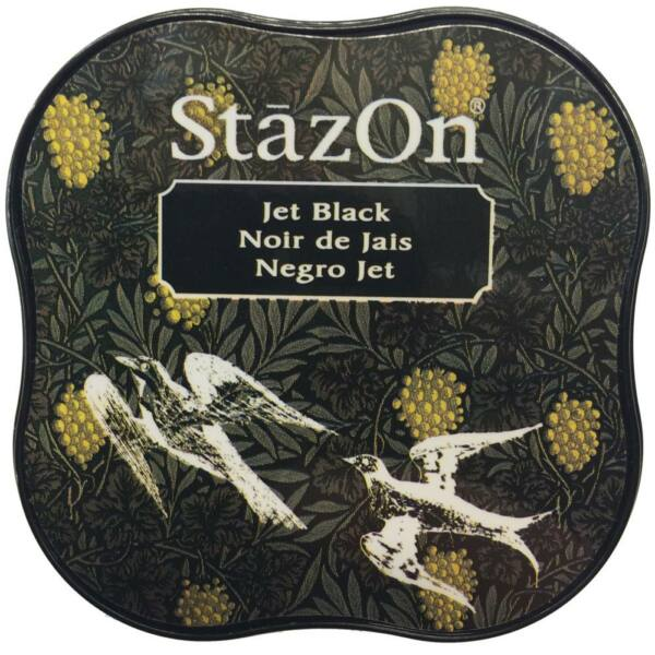 StazOn Midi Ink Pad - Jet Black