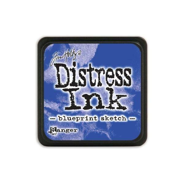 Ranger - Tim Holtz - Mini Distress Ink Pad - Blueprint Sketch